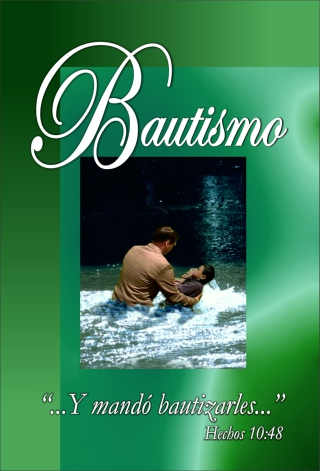 Baptism Tract Cover
