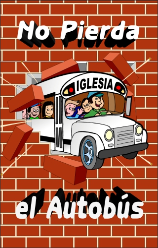Bus Spanish Tract Cover