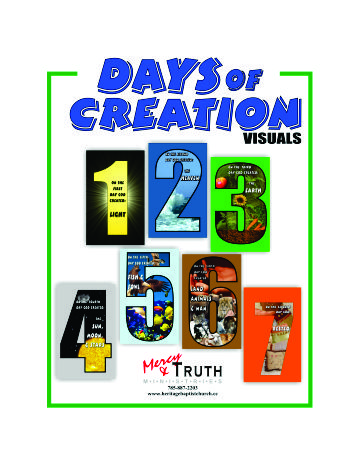 Creation Cover Page