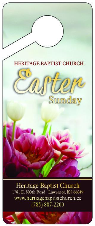 Easter Door Hanger FRONT