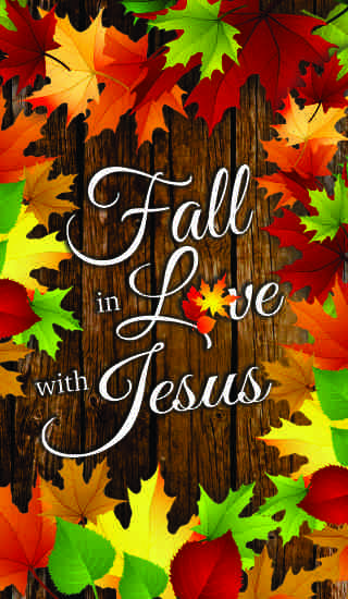 Fall in with Jesus FRONT